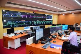 Metro Rail Control and Working of Stations